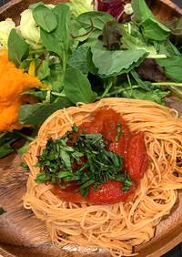 簡単!冷製トマトパスタ