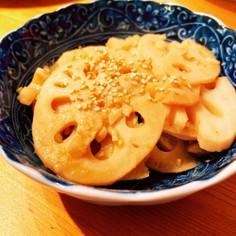 つまみに!柚子胡椒&ポン酢のレンコン炒め