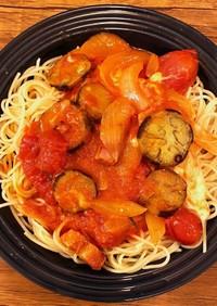トマト缶で超簡単!トマトソースパスタ