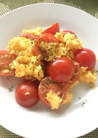 時短&減塩レシピ!トマトとたまごの炒め物