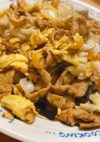 町中華の味! 豚肉ときくらげの卵炒め