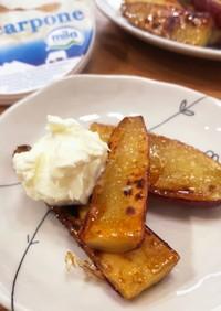 サツマイモのグラニュー糖焼き