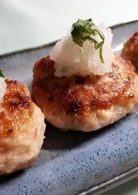 お弁当にも☆ふんわり鶏ひき和風ハンバーグ