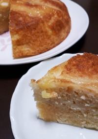 炊飯器で簡単☆桃ケーキ
