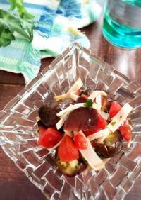 夏に食べたい!焼きナスのイタリアンマリネ