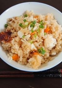 鯛の煮汁をリメイク!鯛めし(松山式)2
