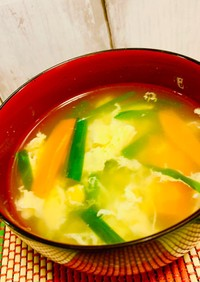 定番の付け合わせ☆基本の中華卵スープ
