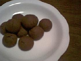 チョコクッキーボール