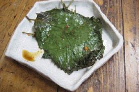 青じそ(えごま)の葉キムチ