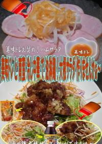 美味ドレと南蛮冷し中華で油淋鶏大根サラダ