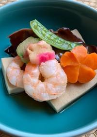 定番レシピ!ヘルシー高野豆腐の含め煮