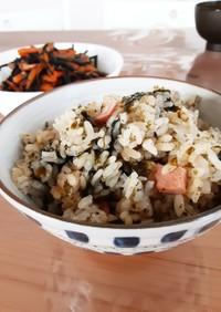 家事ヤロウ「海苔炊き込みご飯」