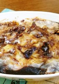 レトルトカレー&炒飯deチーズドリア風。