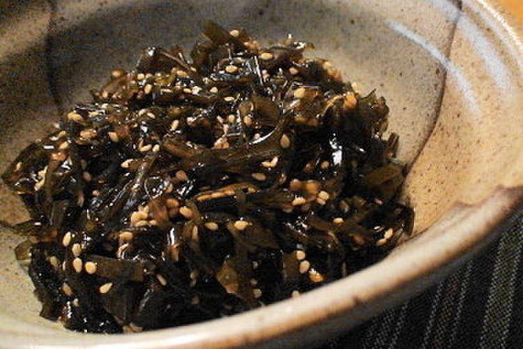 昆布 の 佃煮 意外と簡単!ご飯のお供に♬昆布の佃煮