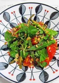 オクラとトマトのベトナム風ソテー
