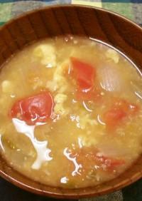トマトのお味噌汁