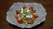 生野菜の冷製パスタの写真