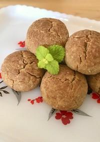 ソルガム粉を使ったグルテンフリークッキー