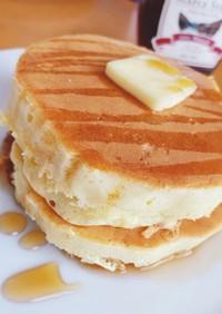 ホットケーキミックス♫ 厚焼きパンケーキ