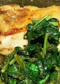 鶏モモ肉の梅干し炒め ★さっぱり 簡単★