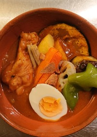 海老出汁スープカレー