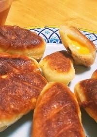 卵&牛乳ナシ!HMモチモチ☆チーズパン