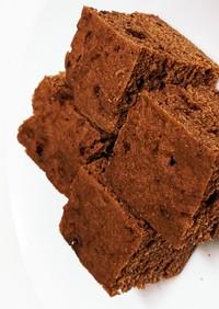ルクエでヘルシー米粉おからチョコ蒸しパン