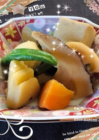 冷凍の和風野菜de簡単お煮しめ