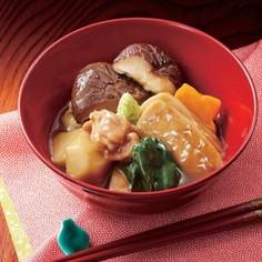 椎茸で美味しい治部煮
