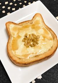 メープル&クリチで至福の胡桃トースト。