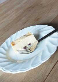 グルテンフリー★レンジ簡単★チーズケーキ
