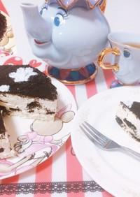ディズニー オレオチーズケーキ 材料3つ