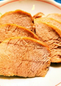 豚ヒレのチャーシュー!超簡単な保存食