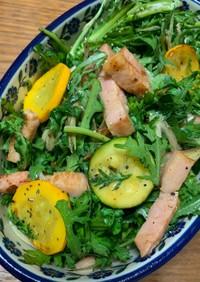 夏野菜のおつまみサラダ