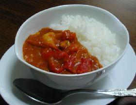 トマトのレッドカリー__Tomato's Red Curry