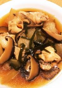 電気圧力鍋で作る手羽元と冬瓜の椎茸スープ