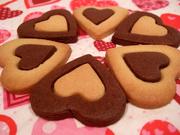 バレンタイン★クリスマス★ハートクッキーの写真