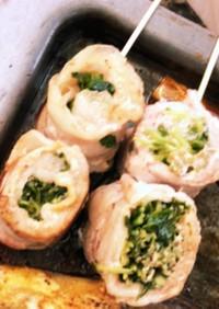 映え!?簡単!美味しい!豆苗で野菜巻き串