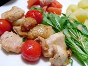 鶏胸肉とトマトのイタリアンソテーの写真