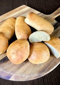 全粒粉湯種パン(作り置き)