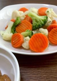 冷凍野菜ミックスと万能味噌だれ