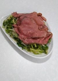 ローストビーフのタイ風サラダ