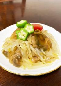 簡単♡搾菜(ざあさい)ともやしのナムル