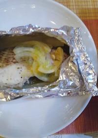 作り置き 鯛のホイル焼き冷凍→解凍→調理