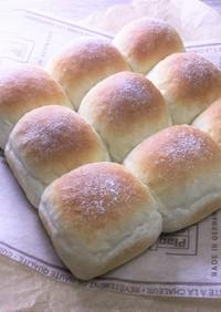 ポリ袋deアーモンドミルクちぎりパン♪