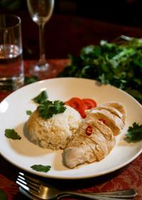 本格派なのに簡単な海南鶏飯