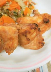 【保育園の給食】鶏肉のBBQソース焼き