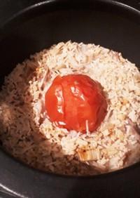 簡単&美味~♡トマトの炊き込みご飯♡