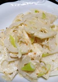 レンコンのマヨ明太子サラダ