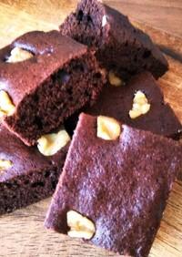 キャセロールで簡単チョコレートケーキ